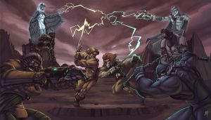 Thundercats Vs MotU by CyberMonkeytron3000