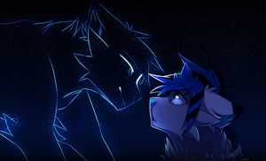I will always be by your side by art-of-a-spirit