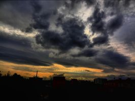 Afternoon Sky -HDR- by IoannisCleary