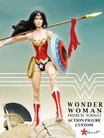 Wonder Woman Sideshow Premium Format Custom Figure by Chalana87