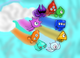 Wisps 2 - Sonic Colors by Tails19950