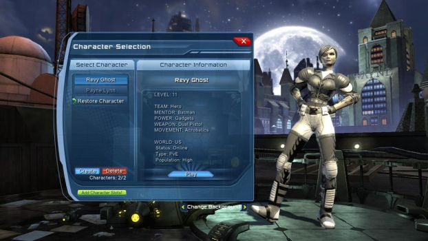 My MMORPG character part 3 DC Universe online by MathisAl1990