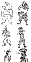 Gravity Fortress 2 sketches by UnknownSpy