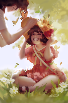 Mother's day - sketch for Patreon by shilin