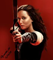 Katniss by jreydomat
