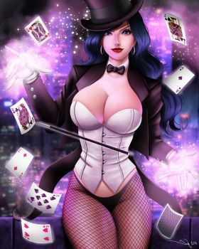 Gotham Girls: Zatanna by iurypadilha