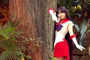 cosplay Sailor Mars by foux86