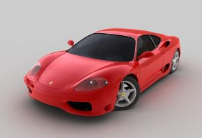 Ferrari 360 Modena by AndyBuck