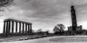 Columns & Tower by RealUprightMan