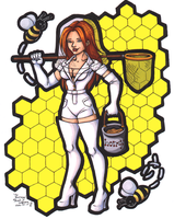 The Beekeeper by CrystallineColey