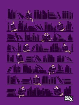 Bookworms by recycledwax