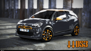 Citroen DS3 Racing 3D by pierre-allard