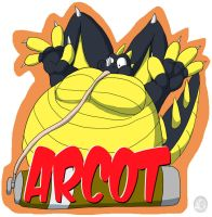 Arcot Inflation Badge by Domafox