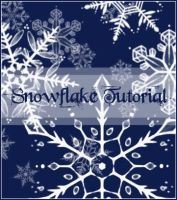 snowflake tutorial by twosilverstars