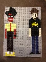IT Crowd Moss and Roy by ReeRee6924