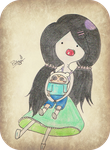 Strawberry Sweet Marceline by Pallypucca