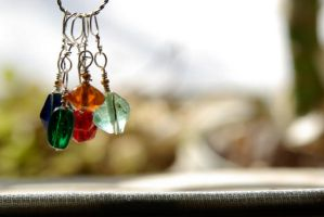 Stitch Markers I by LacrimaArgenteus