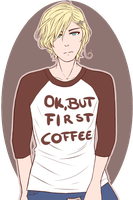 [APH] Norway- 'Ok, but first coffee' by Ms-Filou