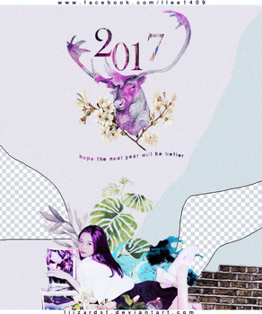 {170128} // PSD // HAPPY LUNAR NEW YEAR by LiizardST