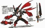 Captain-Japan 2005 design-sketches by Kainsword-Kaijin