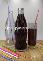Ubuntu cola, now with bubbles by ifilgood