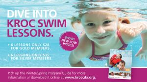 Winter 2013 Swim Lessons Digital Poster by banjoeskimo