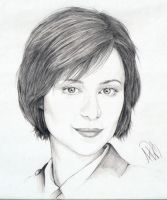 Catherine Bell Portrait by Skimbleshanks2