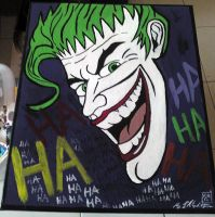 jokes on you The Joker by roydraven777