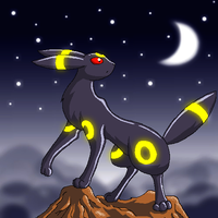 Midnight Umbreon by Jiayi