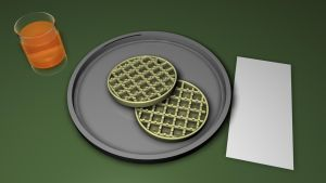 LEGO'd Eggo's by 100SeedlessPenguins