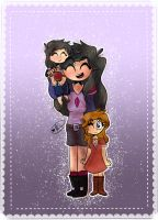 Aphmau and the Girls by TheEmeraldCat131