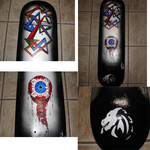 Custom Skateboard Graphic by Dr8co1