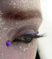 Purple Eye Stock IV by Melyssah6-Stock
