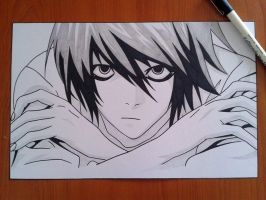 L Lawliet by xBulletproofCatx