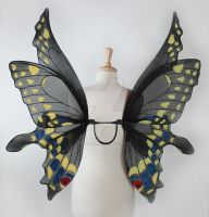 Ariel Female Black Swallowtail Butterfly Fairy Win by glittrrgrrl