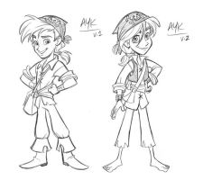Pirate Boy designs by tombancroft