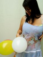 Playing with balloons 05 by Cati-xD