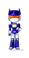 Chibi Soundwave by Nika-N