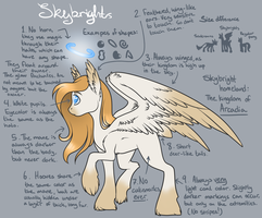 Skybright species reference by craptastics