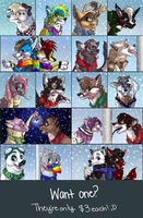 2011 Holiday Icons by MidnightAlleyCat