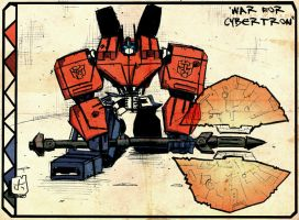War for Cybertron Prime by dcjosh