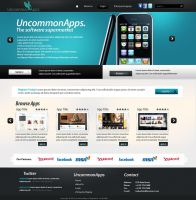 Uncommon Apps store website by yuval10203