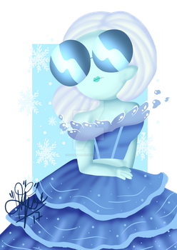 Ice by saralibrary