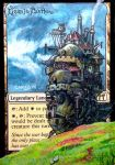 Howls Moving Castle MTG Altered Art Cards by Carys by monsterfulstudio