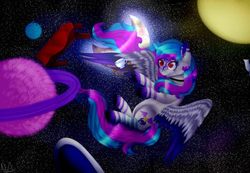 Galaxy Wonderland by Noncy-Art