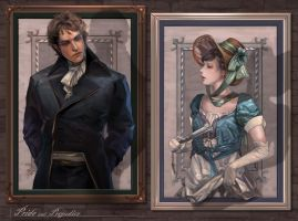 Pride and Prejudice by MARYMARU