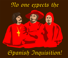 No one expects the Spanish Inquisition by Simzer