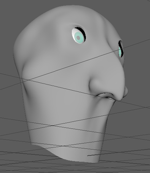 Head WIP 3/3 by Spinball3