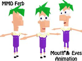 MMD 3D Ferb Download by SachiShirakawa