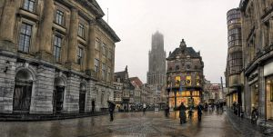 utrecht hdr panorama by FalseTuned